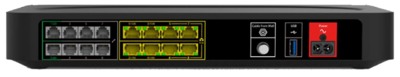 Image of Modem Rear View
