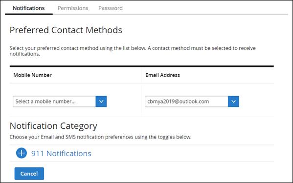 Image of Preferred Contact method