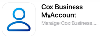 Image of the Cox Business MyAccount App icon