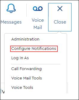 Image of Configure Notifications