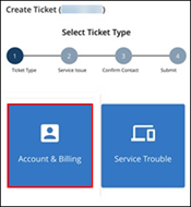 Image of Account & Billing icon