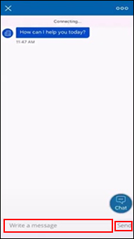 Image of Conversation screen