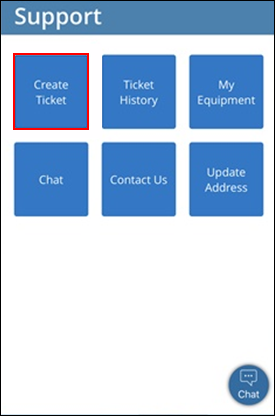 Image of Create Ticket icon