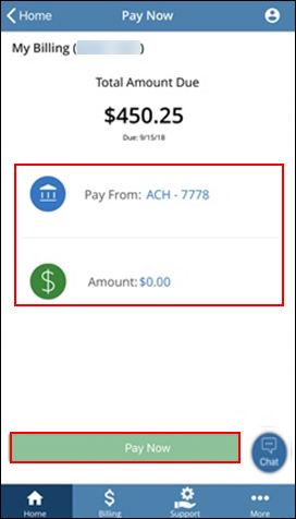 Image of My Billing Pay Now