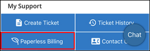 Image of Paperless Billing icon