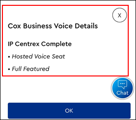 Image of Cox Business Voice Details
