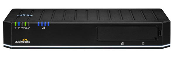 Image of cradlepoint e300 router Front View