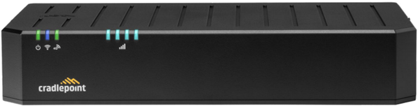 Image of cradlepoint e100 router Front View