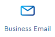 image of the business email icon