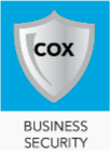 image of the cox business security services app icon