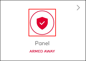Image of the armed shield icon