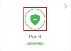 Image of the security tile shield icon