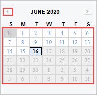 Image of History Calendar