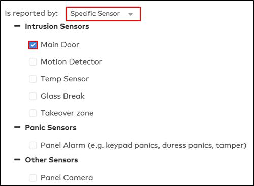 Image of Sensor type