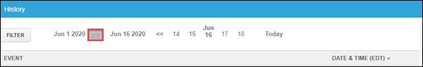 Image of History Calendar icon
