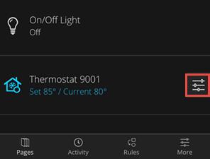 Modifying the Temperature