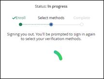 Image of Status in Progress window