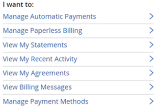 Image of billing & payments page