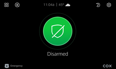 Image of Default home screen