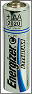 Imagen de batería de litio AA