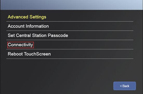 Reboot Touchscreen