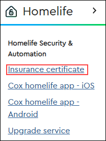 Requesting Proof of Alarm Installation for Cox Homelife