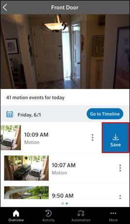 Image of CVR Save Clip Icon