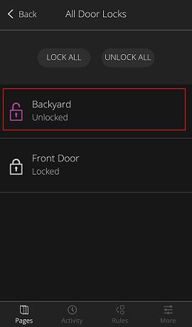 Pantalla Door Locks - Mosaico Lock