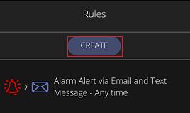 Crear reglas