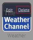 Subscriber Portal - Delete Touchscreen App