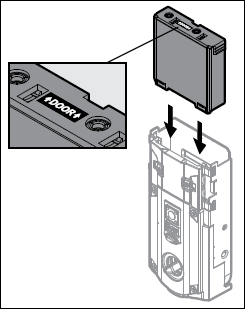 Image showing the battery pack being reinstalled