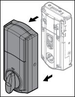 Imagen de quitar latapa interior de la traba de la puerta