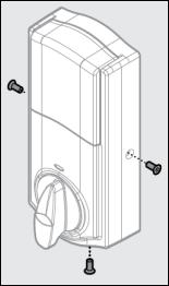 Image of Remove screws from door lock