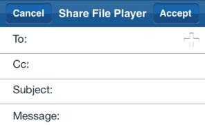 Share file option