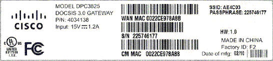 MAC label