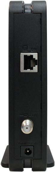 Back View of Hitron CDA 30360 modem