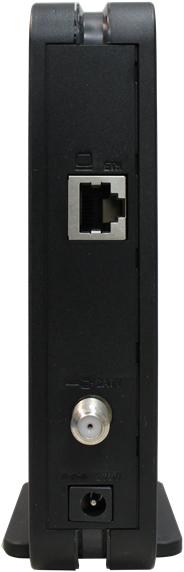 Vista trasera del módem Hitron CDA 30360