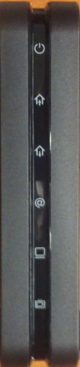 Front View of Hitron CDA 30360 modem