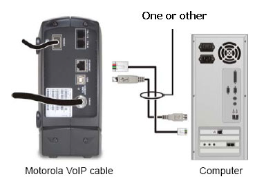 sbv5220 computer connections