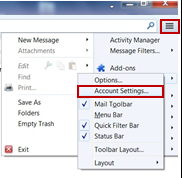 image of Account Settings