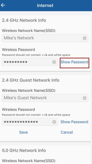 Show Password