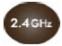 Luz de 2.4 GHz