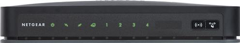 Front view of modem
