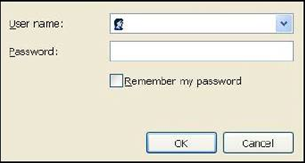image of a router login prompt sample