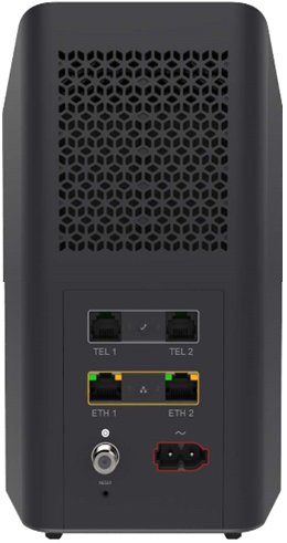 Modem Rear View