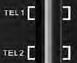 Luces de teléfono 1 y 2