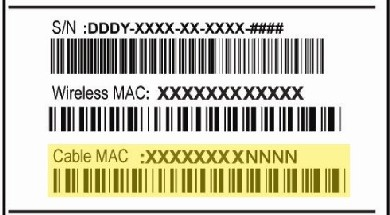 zoom 5350 mac label