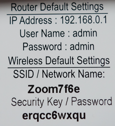 image of the MAC Address of 5352