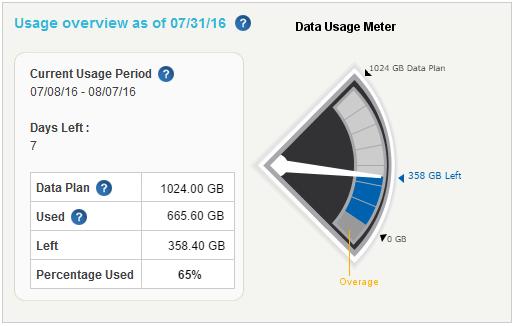 Data Usage Meter