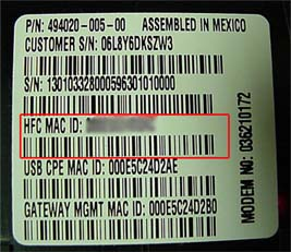 sbg900 mac label